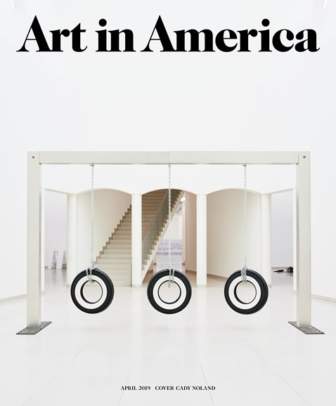 Art In America Cover - 4/1/2019