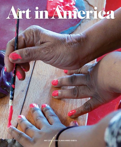 Art In America Cover - 5/1/2019