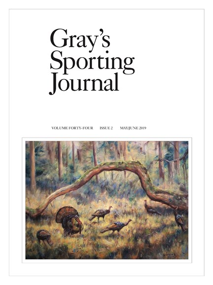 Gray's Sporting Journal Cover - 5/1/2019