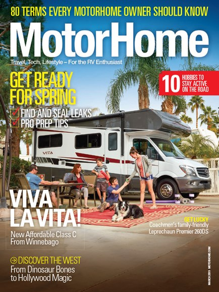 MotorHome Cover - 3/1/2019