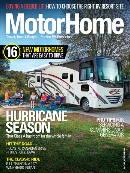 MotorHome Cover - 5/1/2019