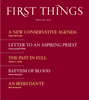 First Things Magazine | 3/2019 Cover