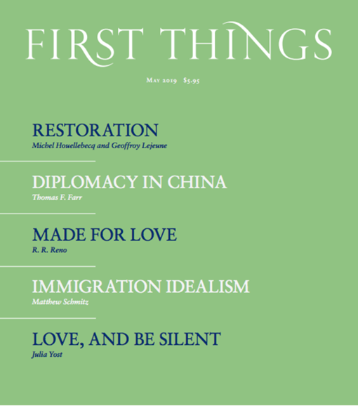 First Things Cover - 5/1/2019