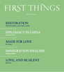 First Things Magazine | 5/2019 Cover