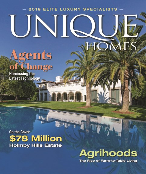 Unique Homes Cover - 3/1/2019