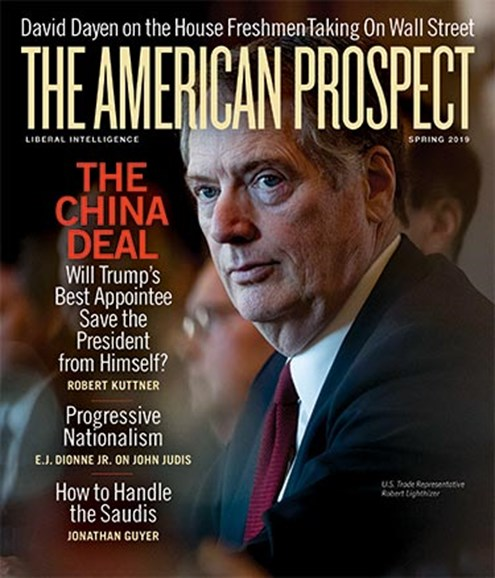 The American Prospect Cover - 4/1/2019