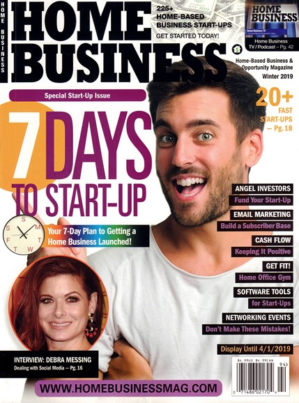 Home Business Magazine Cover - 12/1/2018