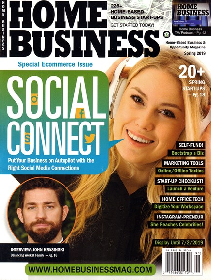 Home Business Magazine Cover - 3/1/2019