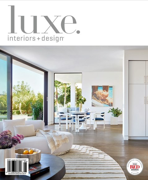 Luxe Interiors & Design Cover - 5/1/2019