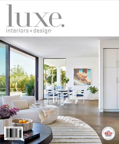 Luxe Interiors & Design Cover - 5/1/2019