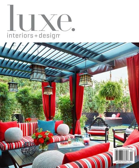 Luxe Interiors & Design Cover - 3/1/2019