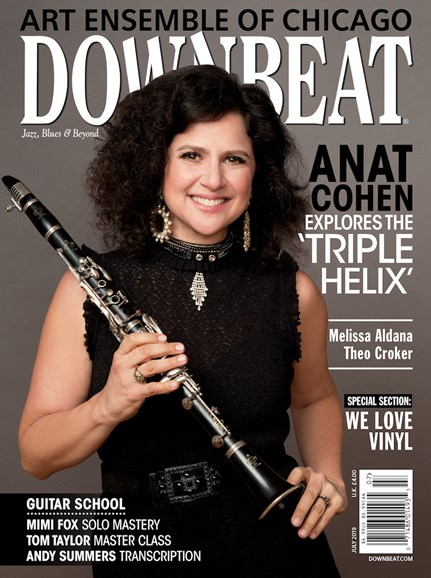 DownBeat Cover - 7/1/2019