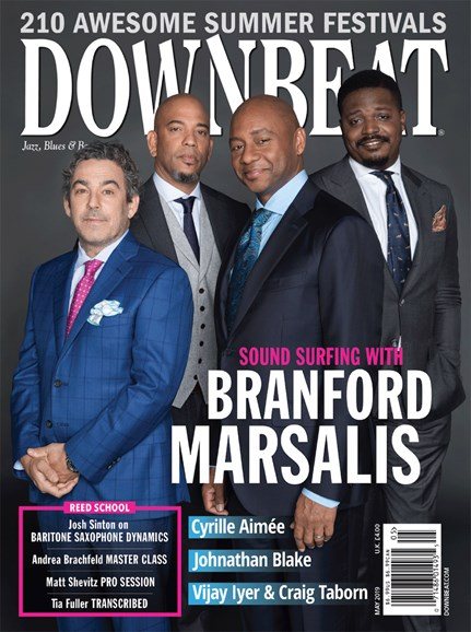 DownBeat Cover - 5/1/2019