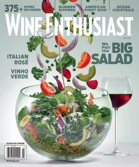 Wine Enthusiast Cover - 7/1/2019