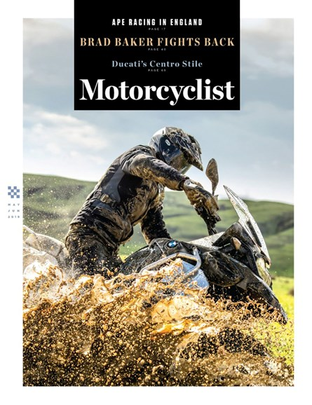 Motorcyclist Cover - 5/1/2019