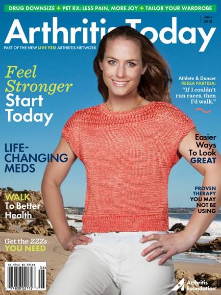 Arthritis Today Cover - 5/1/2019
