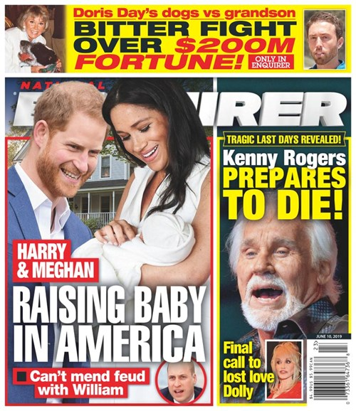 National Enquirer Cover - 6/10/2019