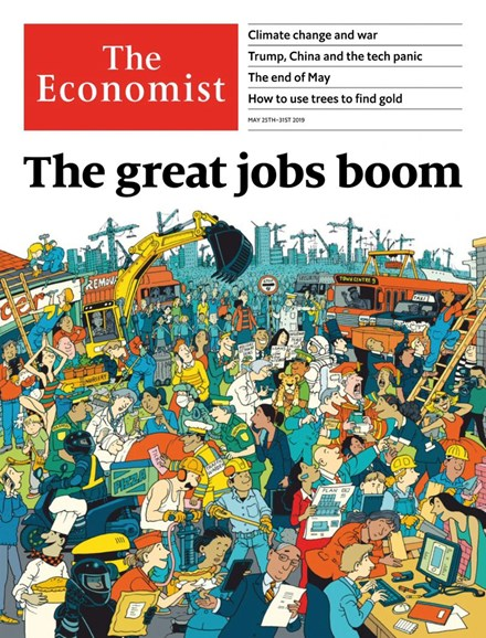 The Economist Cover - 5/25/2019