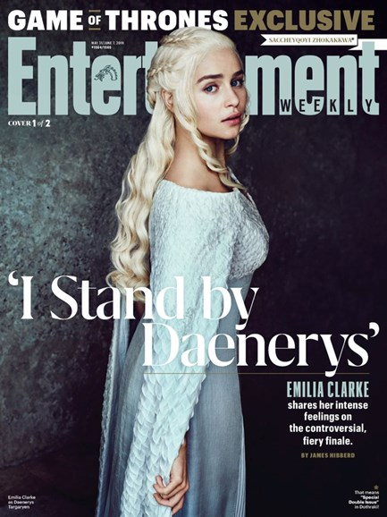 Entertainment Weekly Cover - 5/31/2019