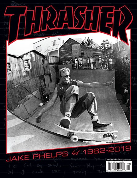 Thrasher Cover - 6/1/2019