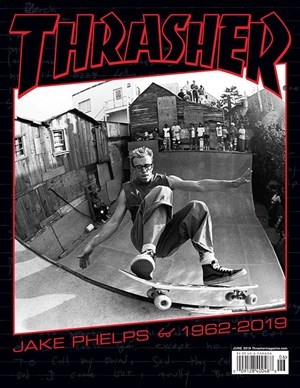 Thrasher Magazine | 6/2019 Cover