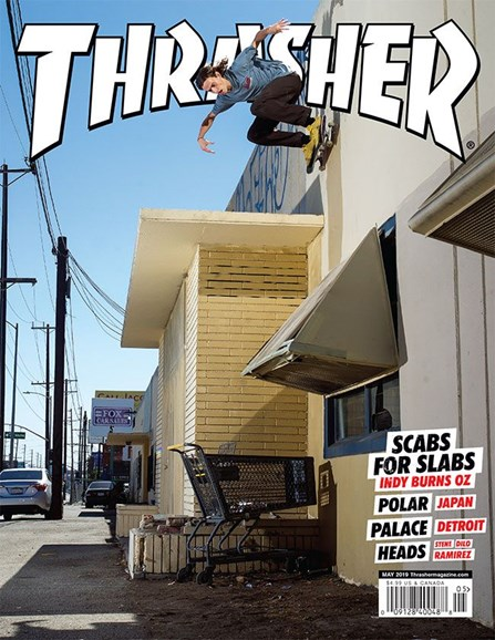 Thrasher Cover - 5/1/2019