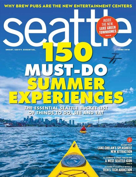 Seattle Magazine Cover - 6/1/2019