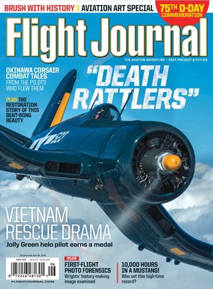 Flight Journal Cover - 6/1/2019