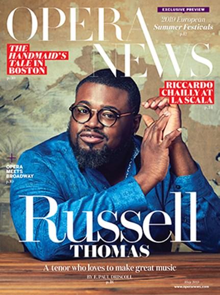 Opera News Cover - 5/1/2019
