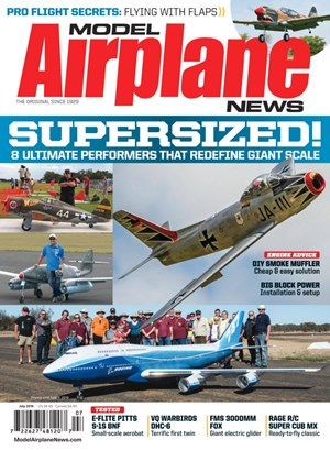 Model Airplane News Magazine | 7/2019 Cover