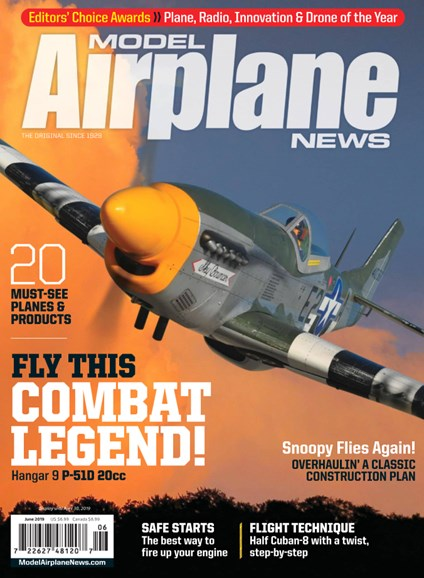 Model Airplane News Cover - 6/1/2019