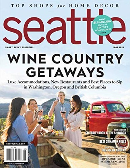 Seattle Magazine Cover - 5/1/2019