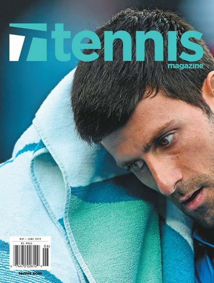 Tennis Magazine Cover - 5/1/2019