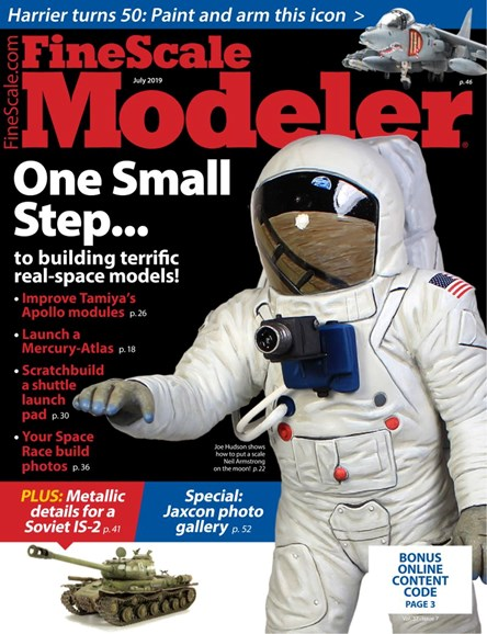 Finescale Modeler Cover - 7/1/2019