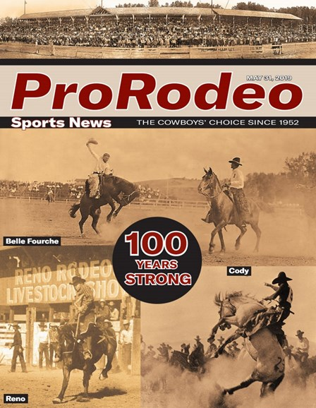 Pro Rodeo Sports News Cover - 5/31/2019