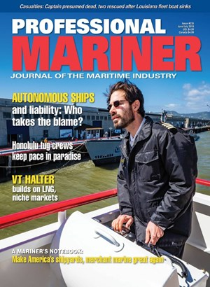 Professional Mariner Magazine | 6/2019 Cover