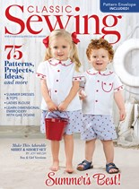 Classic Sewing | 6/2019 Cover