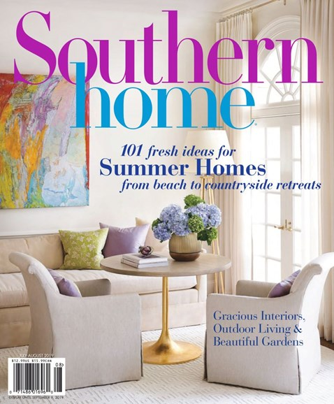 Southern Home Cover - 7/1/2019