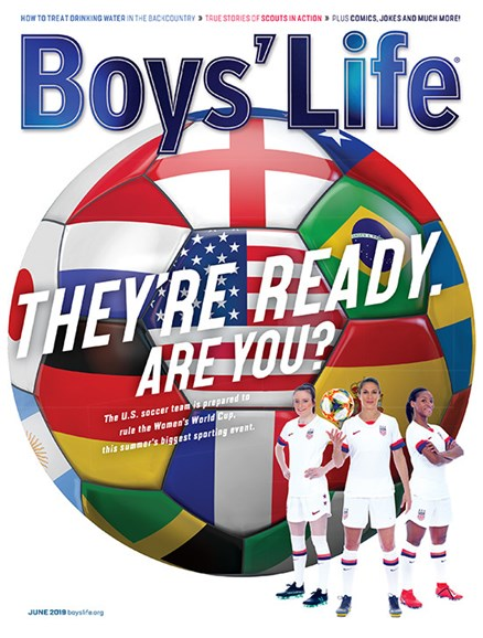Boy's Life Cover - 6/1/2019