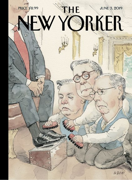 The New Yorker Cover - 6/3/2019