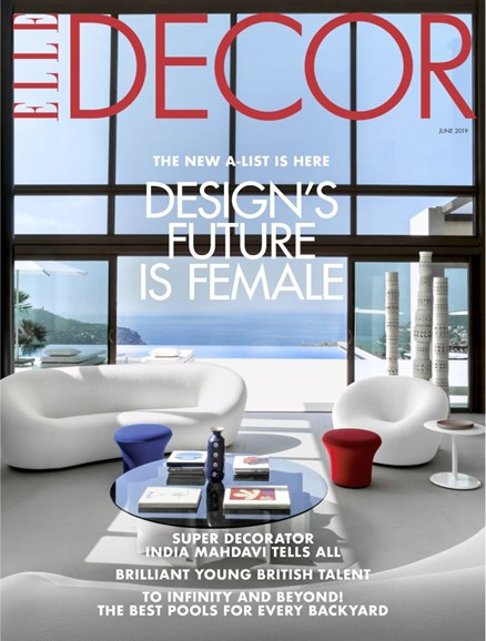 ELLE DECOR Cover - 6/1/2019