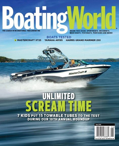 Boating World Cover - 6/1/2019