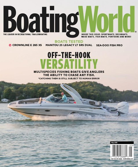 Boating World Cover - 5/1/2019