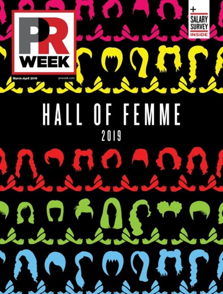 PRWeek Cover - 3/1/2019