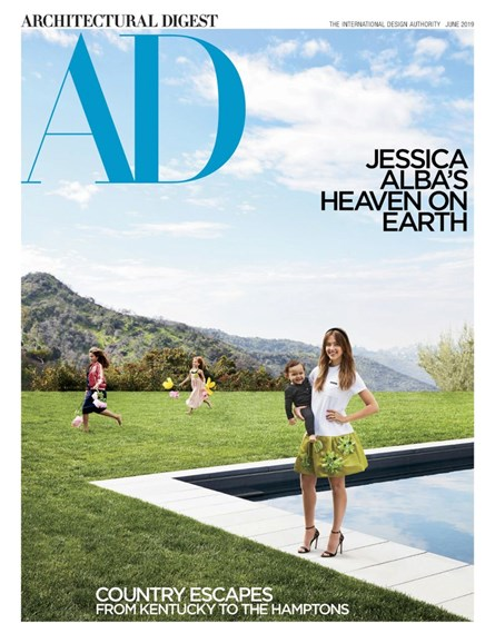 Architectural Digest Cover - 6/1/2019