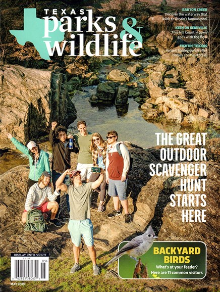Texas Parks & Wildlife Cover - 5/1/2019