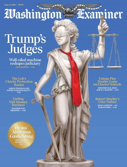 Washington Examiner Cover - 6/4/2019