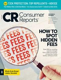 Consumer Reports Magazine   7/2019 Cover