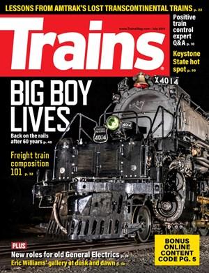 Trains Magazine | 7/2019 Cover