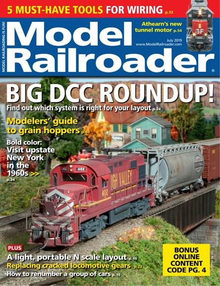 Model Railroader Cover - 7/1/2019